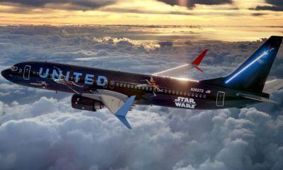 avión temático de Star Wars