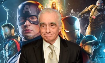 Martin Scorsese recibe regalo de Marvel
