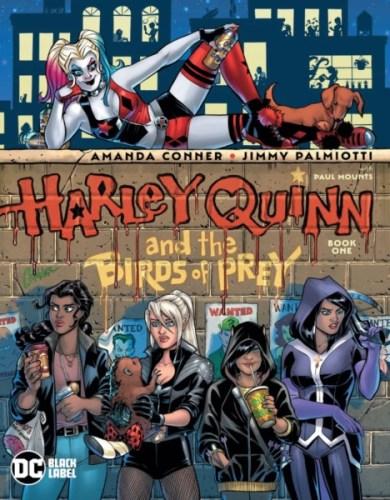 Harley Quinn y Birds of Prey se unirán para un nuevo proyecto de DC Captura-de-Pantalla-2020-01-10-a-las-11.46.54-390x500