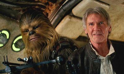 Chewbacca tiene celos de la coestrella de Harrison Ford