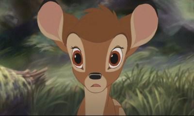 Escena de la mamá de Bambi en el live-action