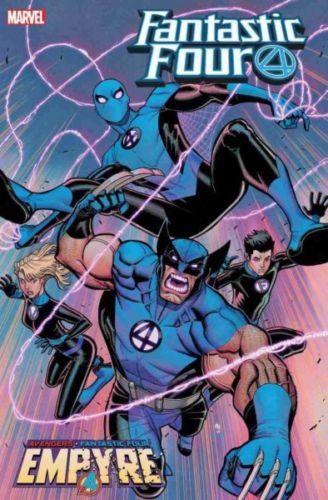 ¿Así sería en el MCU? Wolverine y Spider-Man ahora serán Fantastic Four Fantastic-Four-Empyre-328x500