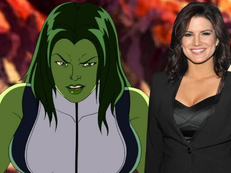 Gina Carano como She-Hulk