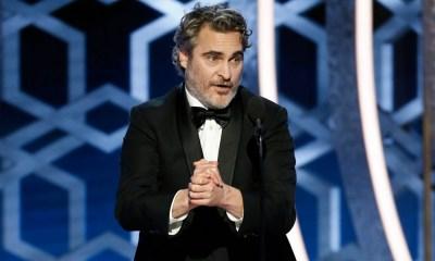 Joaquin Phoenix triunfó en los Golden Globes
