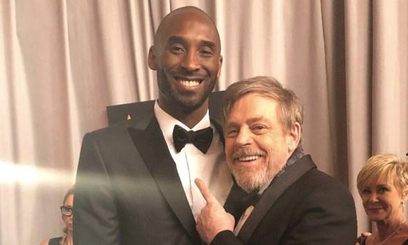 A manera de homenaje, y en un momento de sinceridad, el actor Mark Hamill recordó el Oscar de Kobe Bryant.