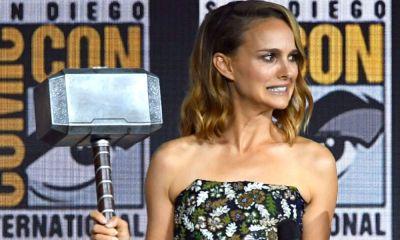Natalie Portman dice que el martillo de Thor es pesado