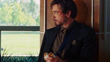 Significado de la escena de la hamburguesa en 'Iron Man'