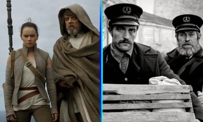 fan trailer de The Last Jedi y The Lighthouse