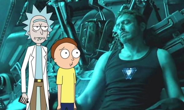 Rick and Morty en 'Avengers: Endgame'