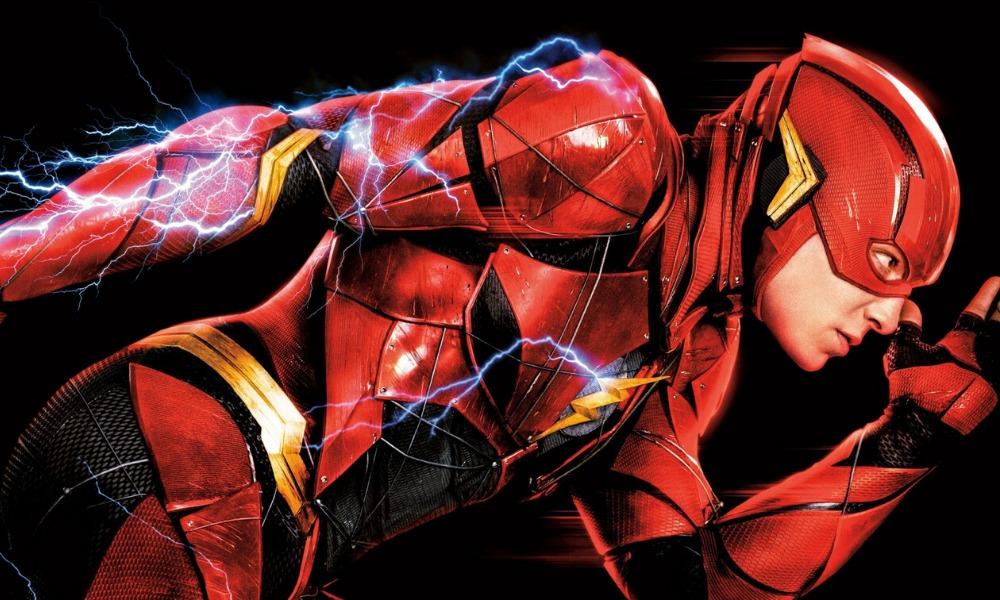 nuevo traje de Flash de Ezra Miller