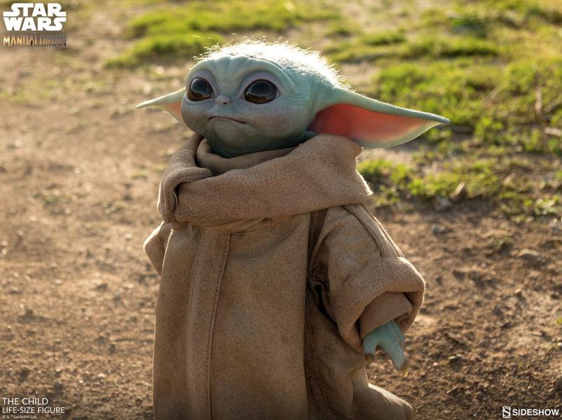 Desde el universo de Star Wars: Baby Yoda en tamaño real existe mun%CC%83eco-baby-yoda-5