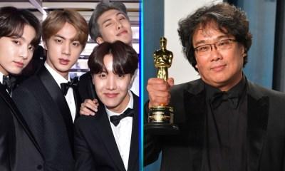 BTS reaccionó por los Oscar de 'Parasite'