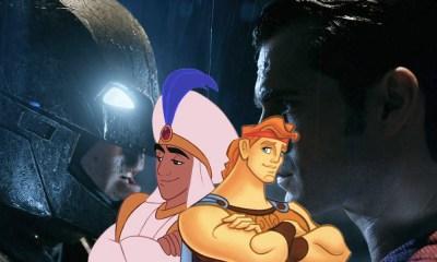 Batman y Superman según Disney