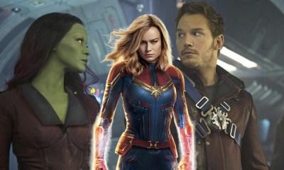 Guardians of the Galaxy no conocían a Captain Marvel