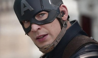 John Krasinski felicitó a Chris Evans por Captain America