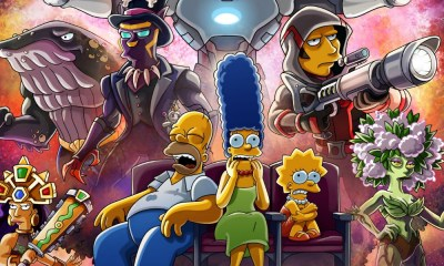 Póster de 'The Simpsons' al estilo 'Infinity War'