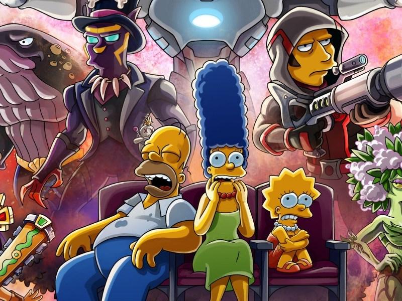 Póster de 'The Simpsons' al estilo 'Infinity War'