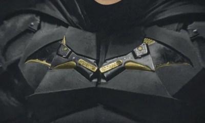 Imagen del traje completo de Batman de Robert Pattinson