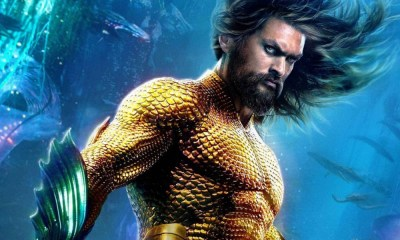 Aquaman recuperó su mano