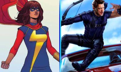 fecha de estreno para Ms. Marvel y Hawkeye