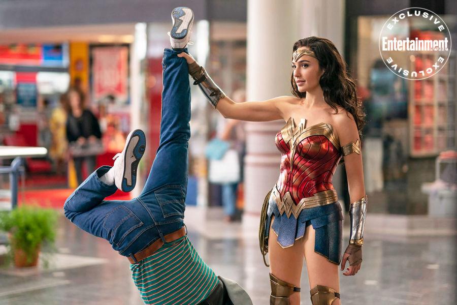 Nuevas fotos de 'Wonder Woman 1984' revelan la armadura de Diana image-7