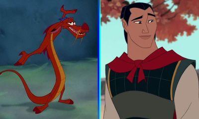 Mushu y Li Shang no aparecen en Mulan