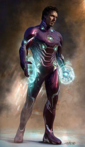 Doctor Strange iba a utilizar la armadura de Iron Man en 'Infinity War' phil-saunders-ironstrange-01-philsaunders-032317-web-290x500
