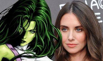 Fan art de Alison Brie como She-Hulk
