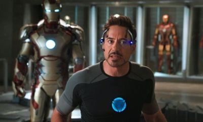 accidente de Robert Downey Jr. en 'Iron-Man 3'