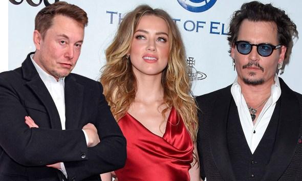 Amber Heard engañó a Johnny Depp con Elon Musk