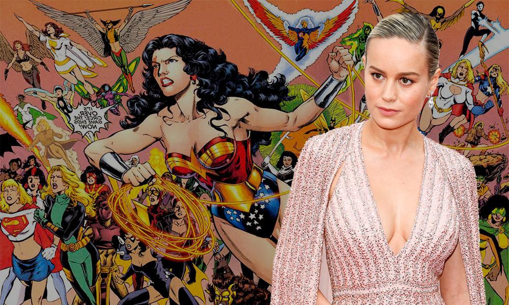 Brie Larson interpretaría a Lady Blackhawk