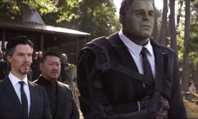 Mark Ruffalo sufrió en el funeral de Iron Man
