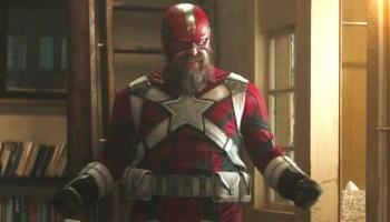 escudo de Red Guardian es parecido al de Captain America