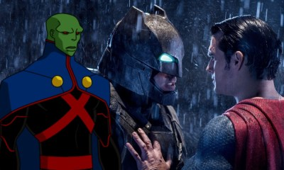 Martian Manhunter apareció en 'Batman V Superman'