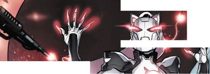 ¿Iron Cat? Marvel presentó la armadura de su nuevo héroe iron-cat-collage