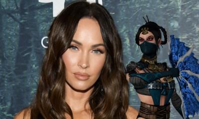 Megan Fox como Kitana en el reboot de 'Mortal Kombat'