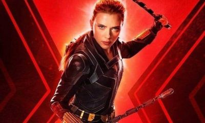 Póster fan art de Black Widow'