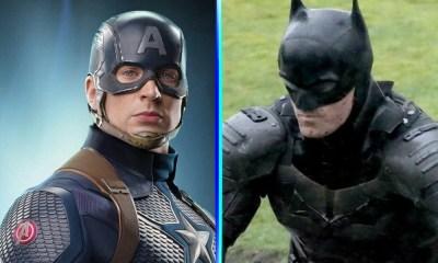 Reunión entre Captain America y Batman