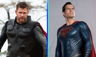 Así se ve Chris Hemsworth como Superman