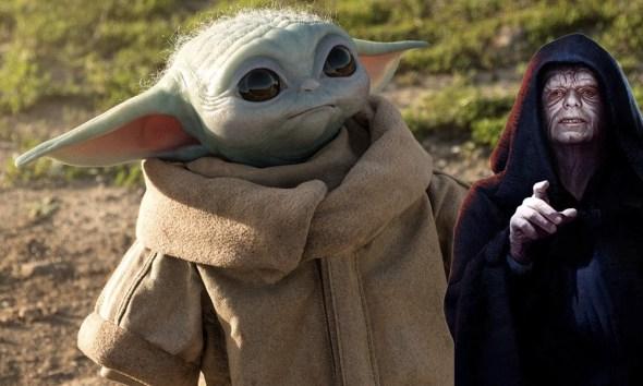 Relación de Palpatine y Baby Yoda en 'The Mandalorian'