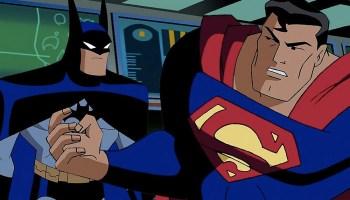 Batman volvió a enfrentarse contra Superman en la serie animada