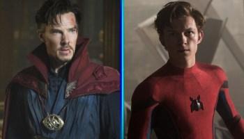 Póster convierte a Spider-Man en Doctor Strange