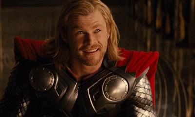 El logo de Avengers apareció en 'Thor'