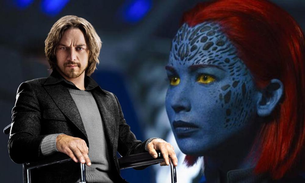 Mystique y Professor X se casaron