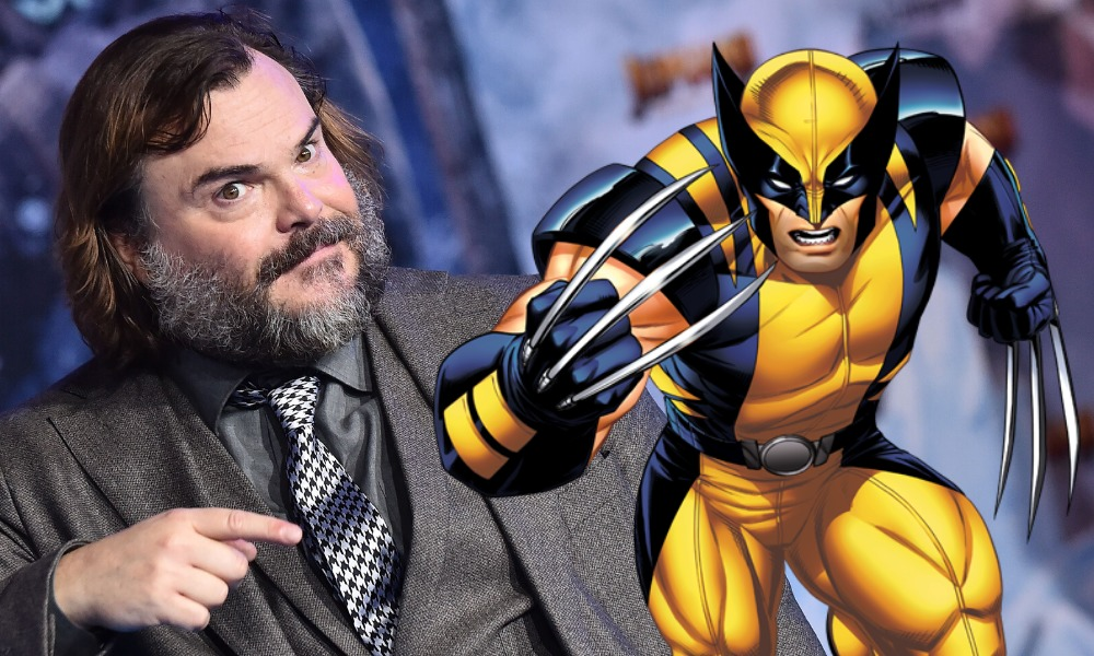 así se ve Jack Black como Wolverine