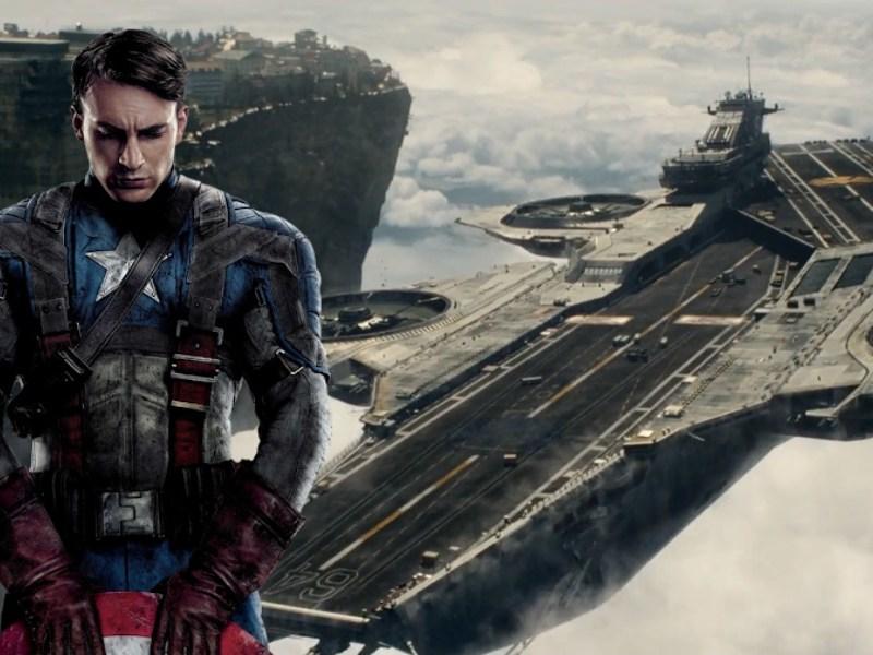 Helicarrier hizo referencia al Captain America