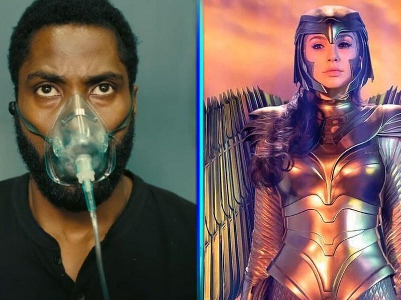Tenet y Wonder Woman 1984 sí llegarán al cine