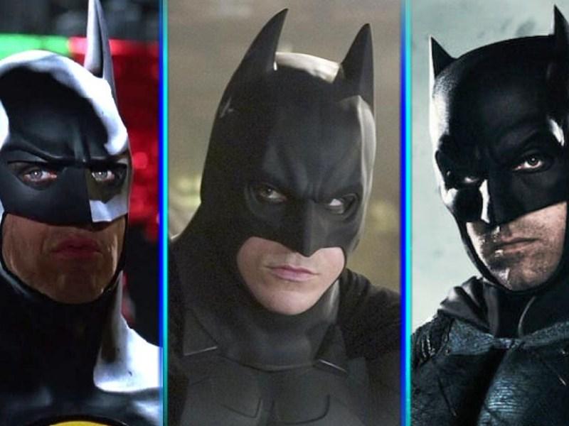Fan póster con todos los Batman del cine
