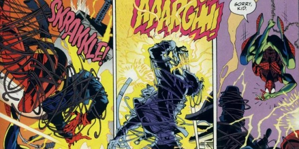 It Spider-Man against Superboy! So was the fight between the two teenage heroes superman-superboy-fight-600x300