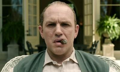 Transformación de Tom Hardy en Capone
